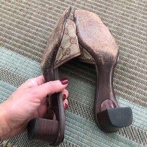 Gucci Shoes - Gucci gg logo sandals